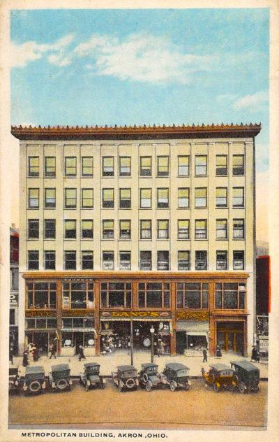 Metropolitan Building, Lang's, Akron, Ohio