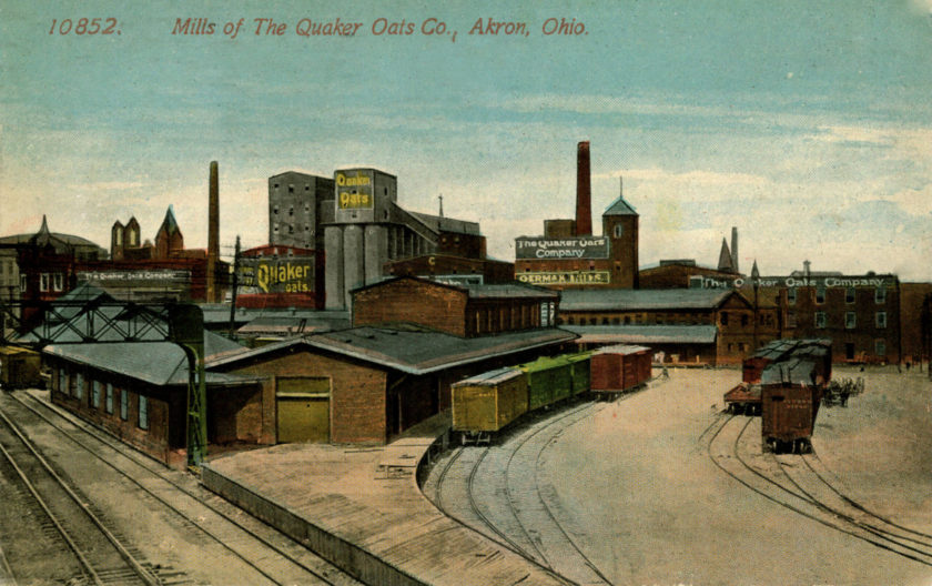 Mills of the Quaker Oats Company, Akron, Ohio