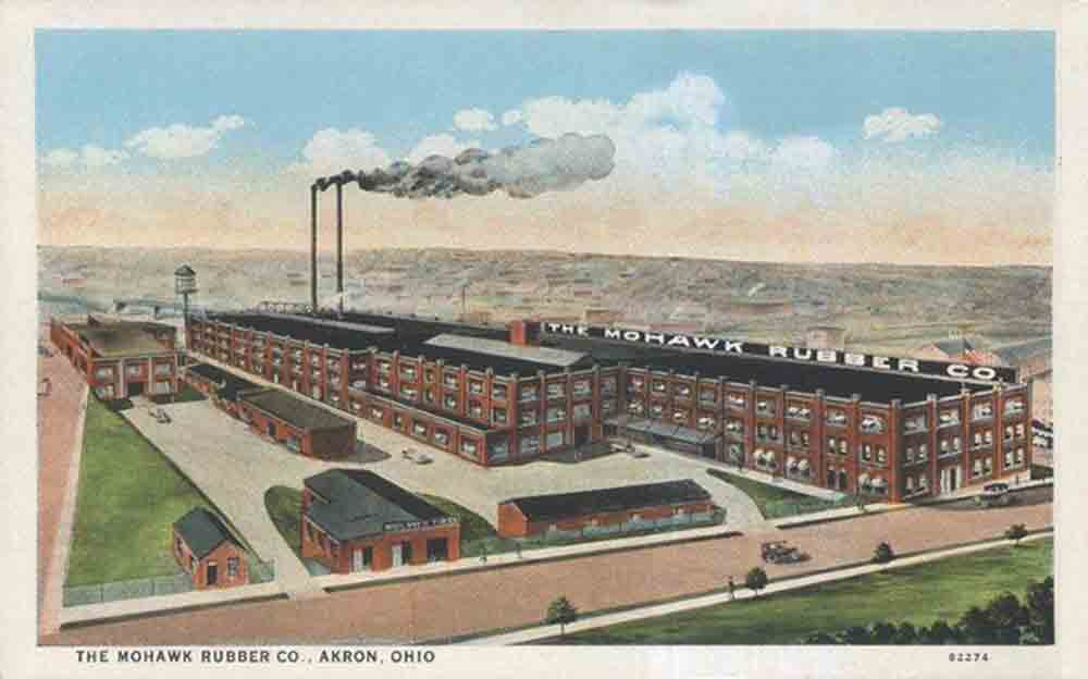 Mohawk Rubber Co Akron Postcards
