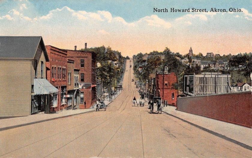 North Howard Street, Akron, Ohio
