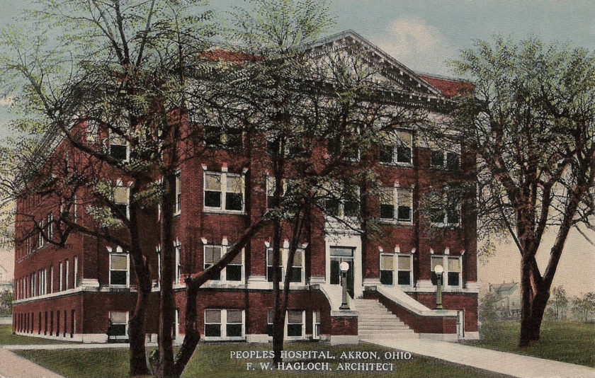 Peoples Hospital, Akron, Ohio