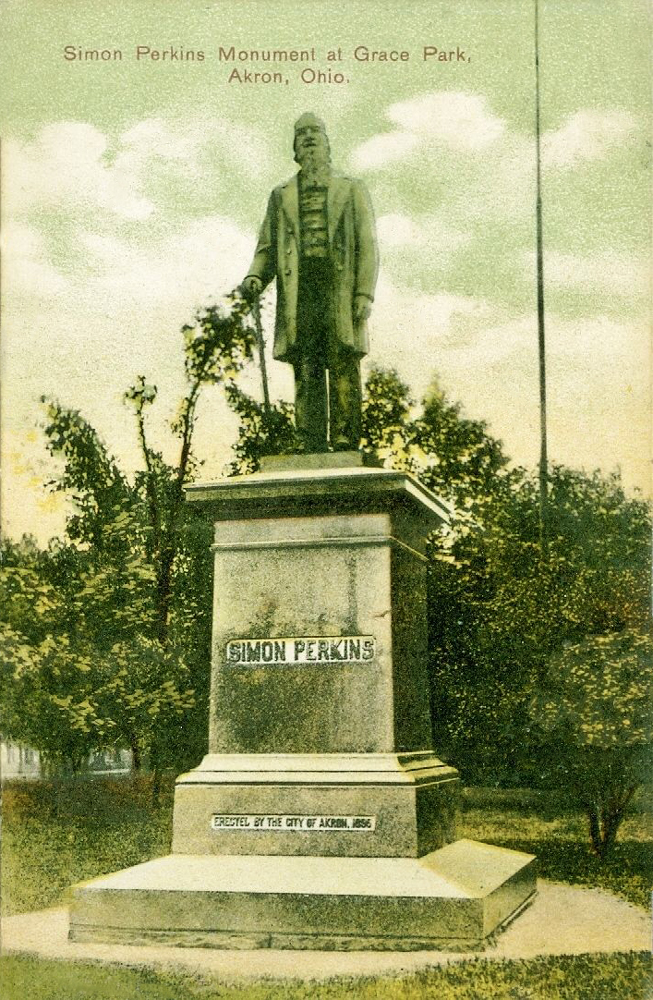 Simon Perkins Monument at Grace Park