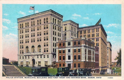 Police Station and Municipal Building, Akron, Ohio