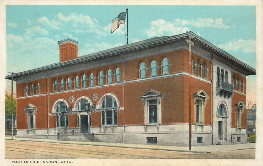 Post Office, Akron, Ohio