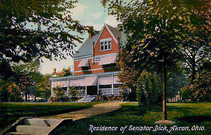 Residence of Senator Charles Dick, Akron, Ohio