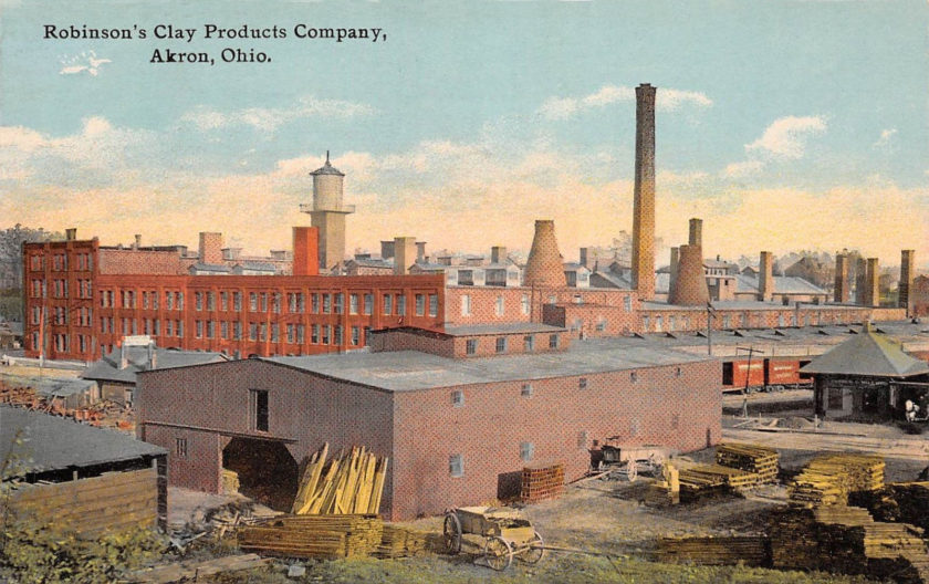 Robinson's Clay Products, Akron, Ohio