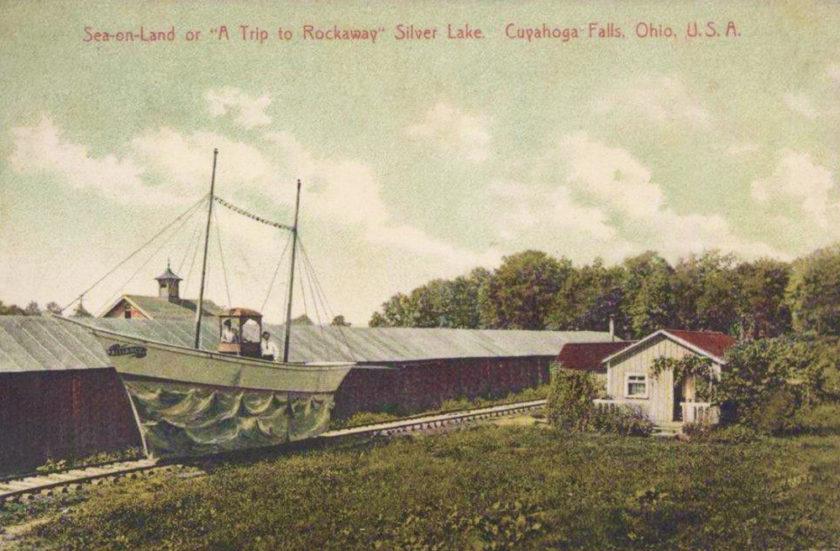 Silver Lake Park - A Trip to Rockaway, Cuyahoga Falls/Akron, Ohio