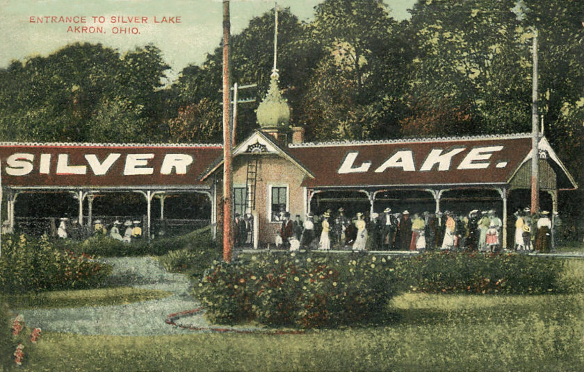 Silver Lake Park Entrance, Akron, Ohio