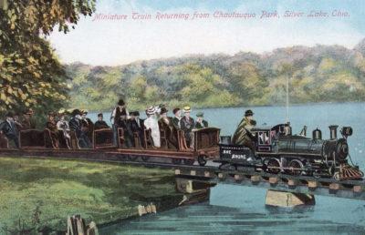 Train from Chautauqua Park to Silver Lake Park, Akron/Cuyahoga Falls, Ohio