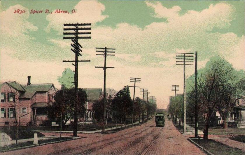 Spicer Street, Akron, Ohio