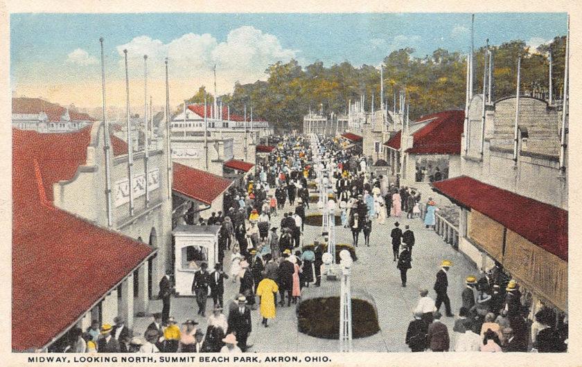 Summit Beach Park Midway, Akron, Ohio