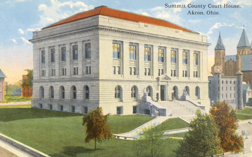 Summit County Court House, Akron, Ohio
