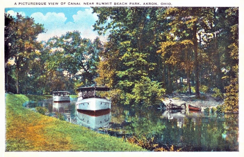 The Canal Near Summit Beach Park, Akron, Ohio