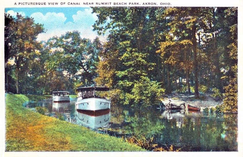 The Canal Near Summit Beach Park, Akron, Ohio