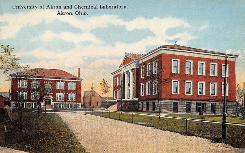University of Akron Chemical Laboratory, Akron, Ohio
