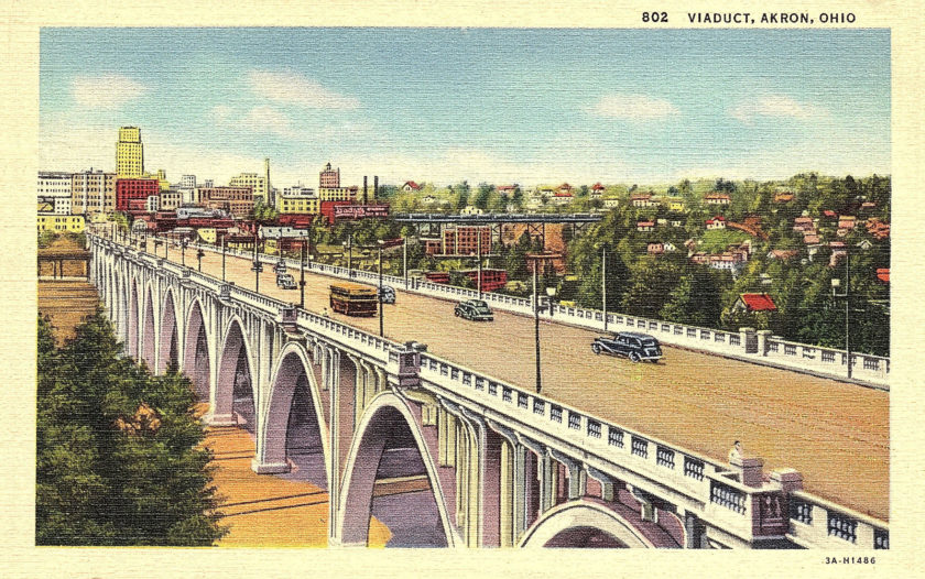 Viaduct, Akron, Ohio