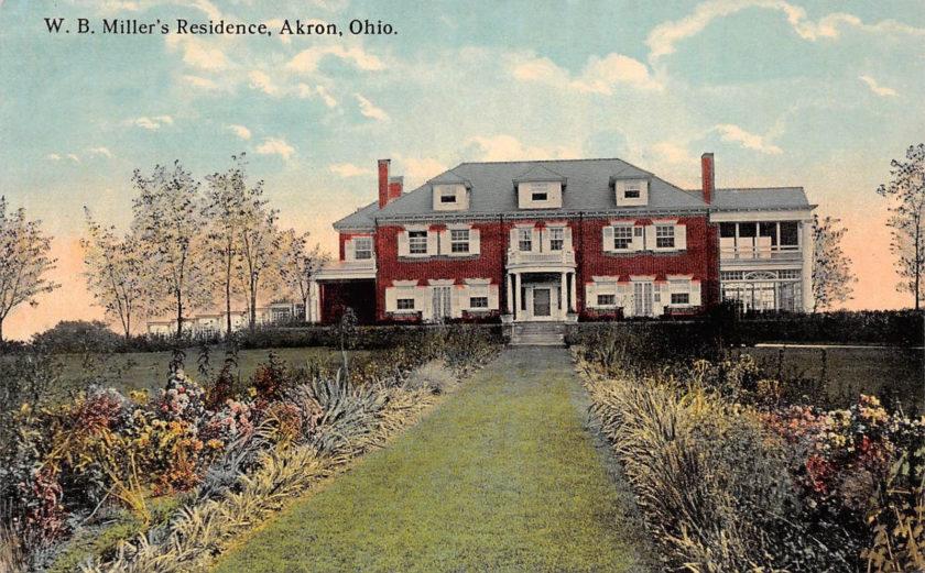 W.B. Miller Residence, Akron, Ohio