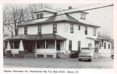 Walter Thornwell Inn, Akron, Ohio