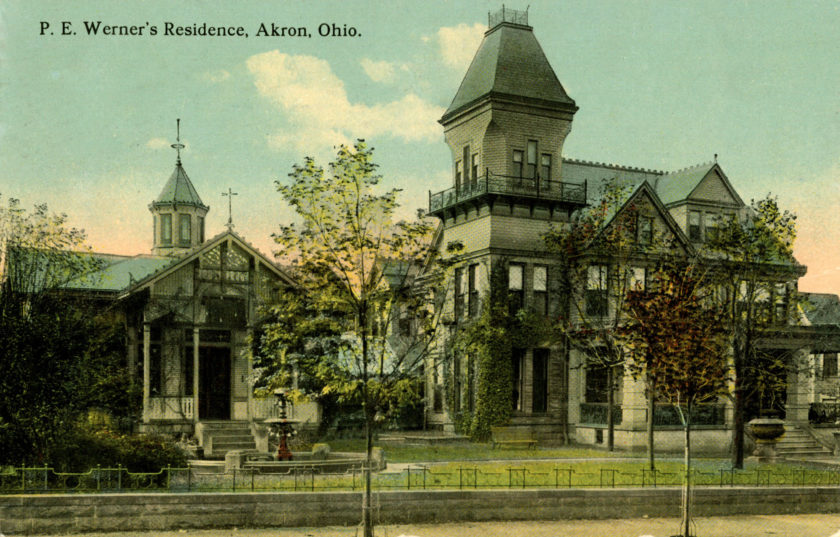 P.E. Werner's Residence, Akron, Ohio
