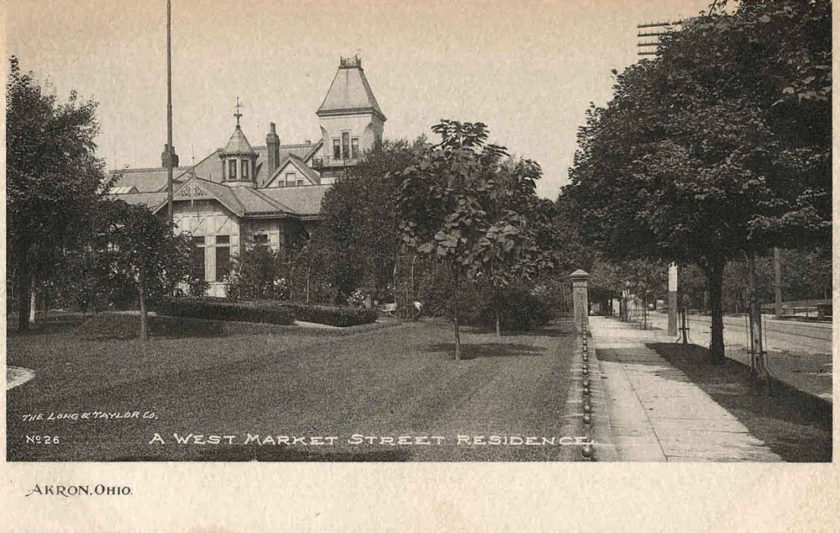 P.E. Werner Residence, Akron, Ohio