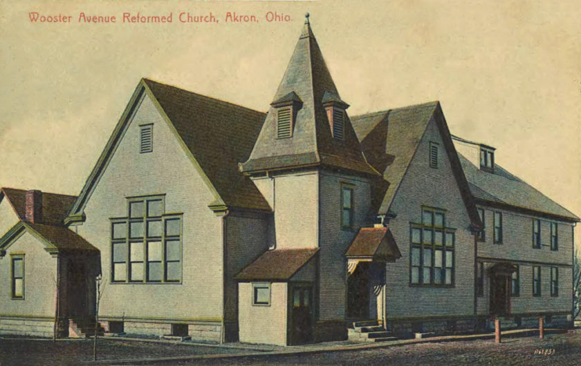 Wooster Avenue Reformed Church, Akron, Ohio