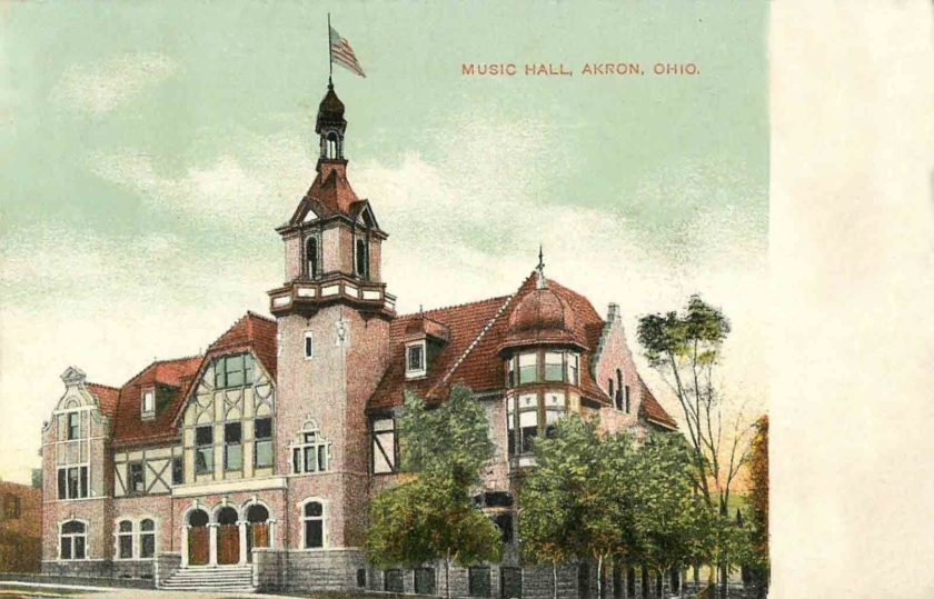 Music Hall, Akron, Ohio