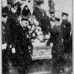 Funeral for E. Wolfe 1930, Akron, Ohio