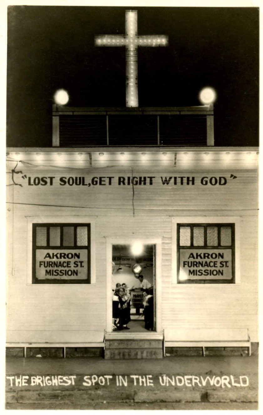 Furnace Street Mission, Akron, Ohio