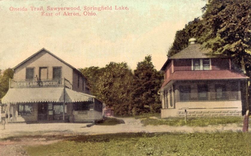 Oneida Trail - Wieland Grocery, Springfield Lake, Akron, Ohio
