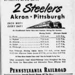 Union Depot ad, Akron, Ohio