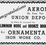 Ornamental Iron Work Co. - Union Depot, Akron, Ohio