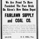 Fairlawn Supply and Coal Co. - Union Depot, Akron, Ohio