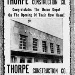 Thorpe Construction Co. - Union Depot, Akron, Ohio