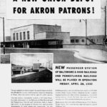 Union Depot Ad - Akron, Ohio