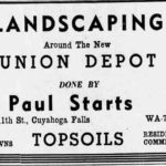 Paul Starts Landscaping - Union Depot, Akron, Ohio