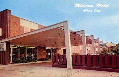 Midtown Motel, E Market Street, Akron, Ohio