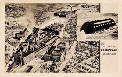 Goodyear Factories, Akron, Ohio