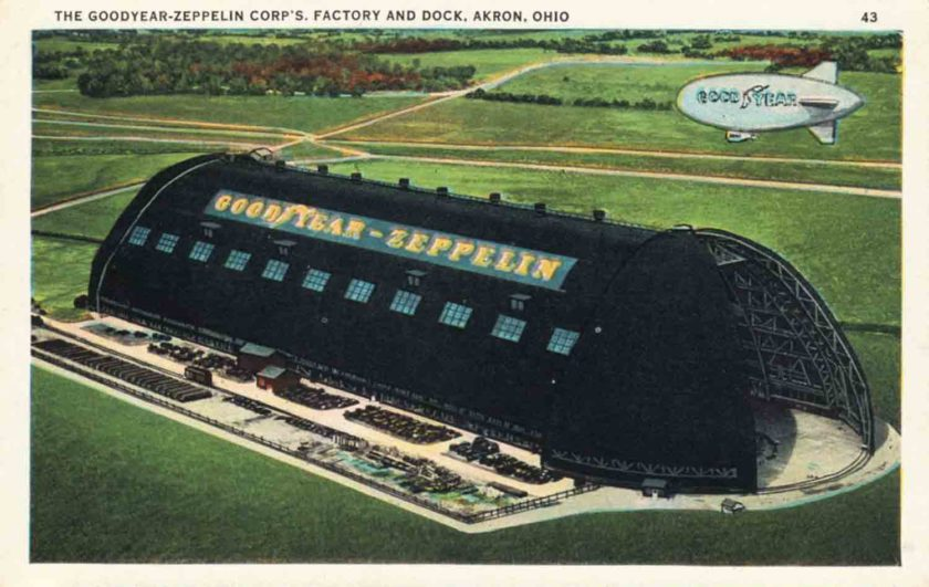 Goodyear-Zeppelin Co. Factory, Akron, Ohio