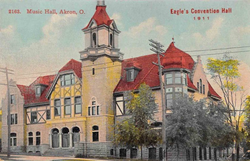 Music Hall, Eagle Convention Hall, Akron, Ohio