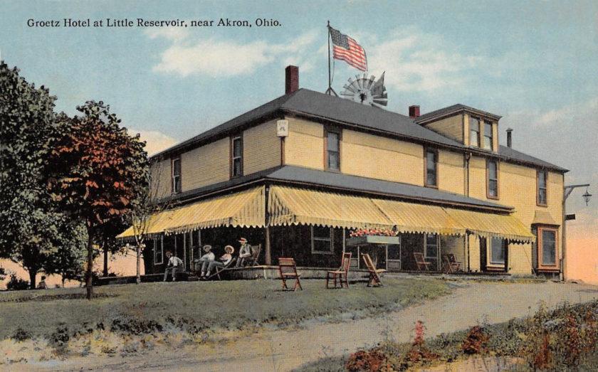 Goretz Hotel, Portage Lakes near Akron, Ohio