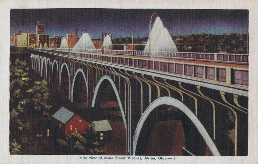 Main Street Viaduct, Akron. Ohio