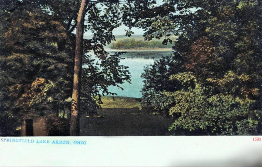 Springfield Lake, Akron, Ohio