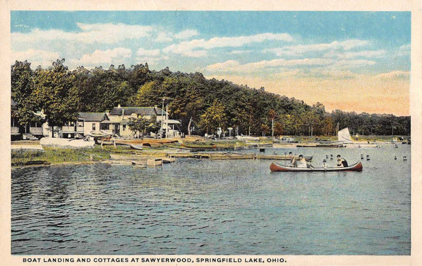 Springfield Lake, Cottages at Sawyerwood, Springfield/Akron, Ohio