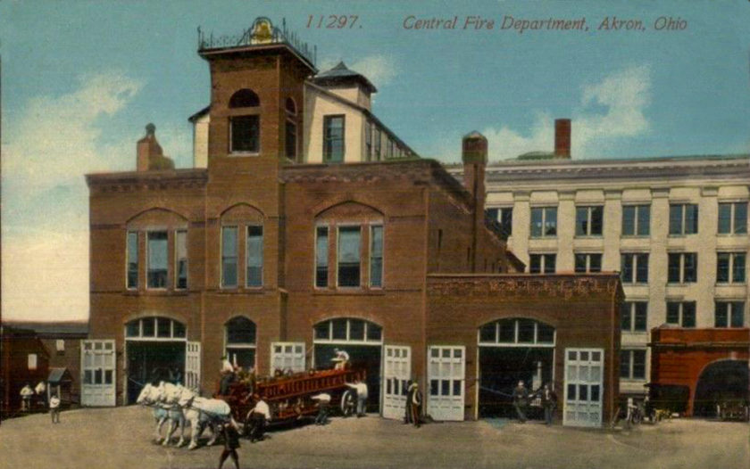 Akron's Central Fire Department