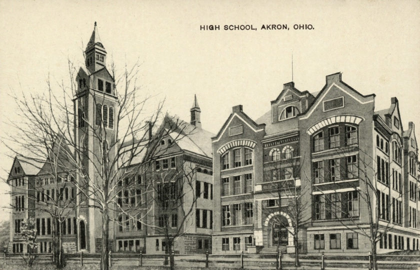Akron High School, Akron, Ohio