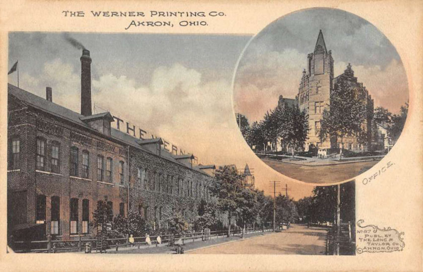 Werner Publishing Company, Akron, Ohio