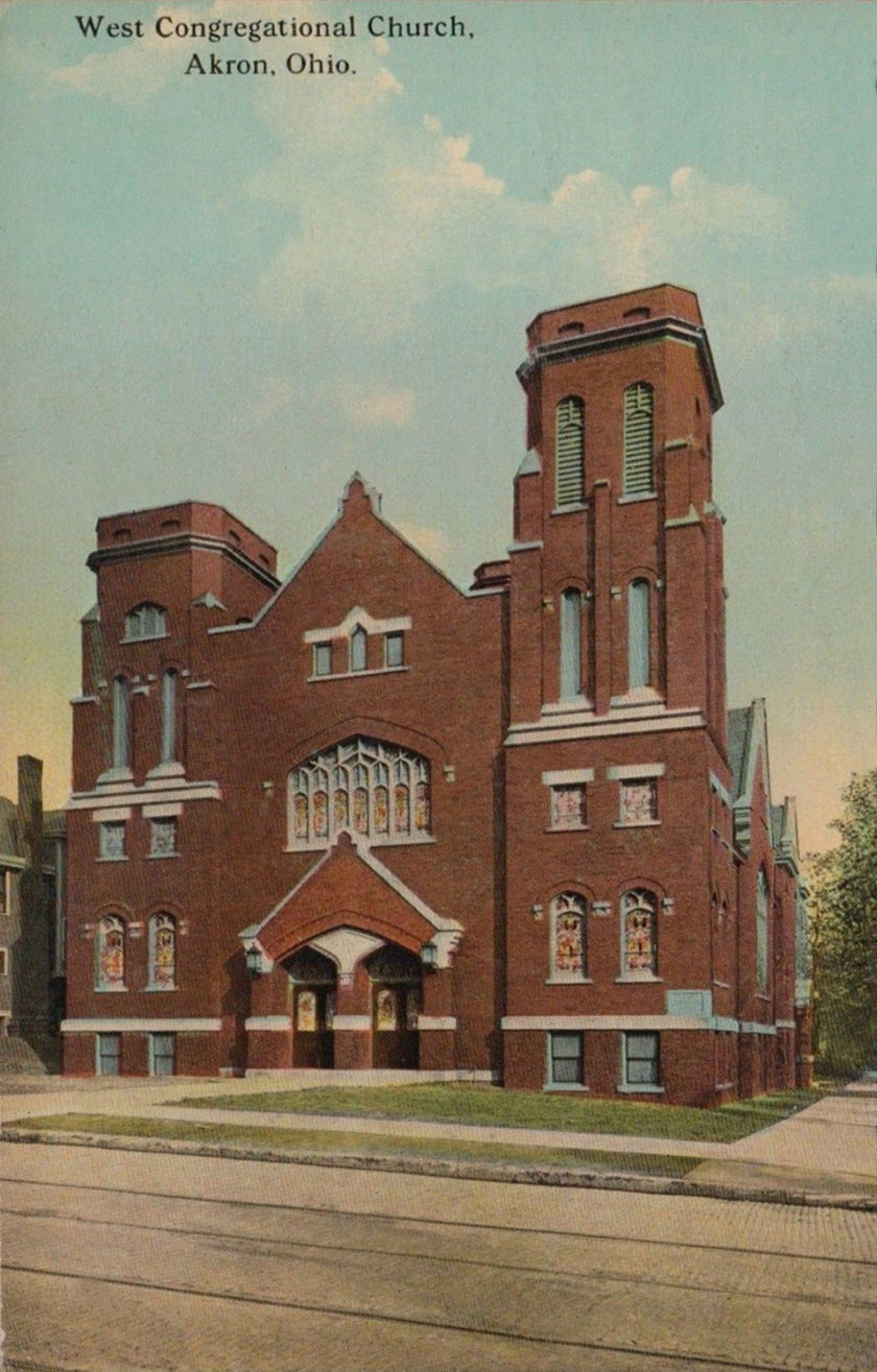 West Congregational Church, Akron, Ohio