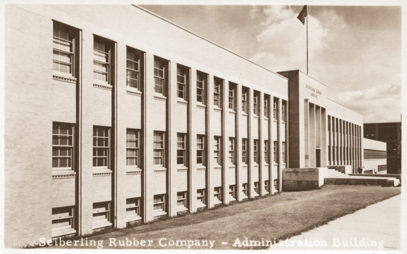 Seiberling Rubber Company Administrative Offices, Barberton, Ohio
