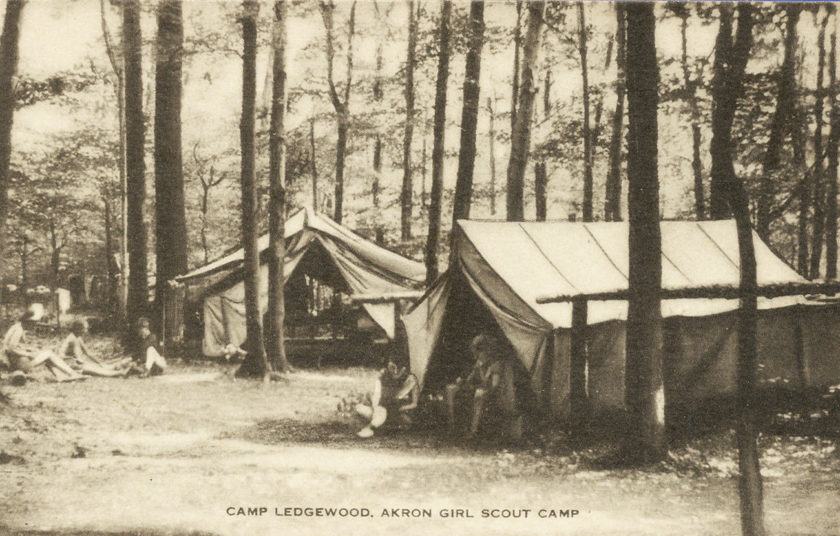 Camp Ledgewood (Girl Scouts), Akron, Ohio - Peninsula