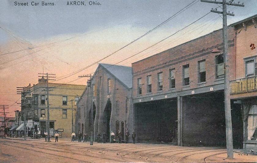 Street Car Barns, Akron, Ohio